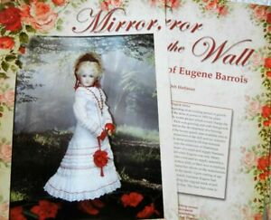 "24p History Article   Uncut Dress Pattern Antique French Barrios 15"" Dolls"