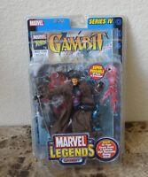 GAMBIT Marvel Legends SERIES IV Brown Coat Variant NEW X-MEN Action Fig 38 Pts