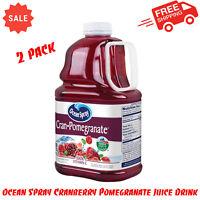 (2 Pack) Ocean Spray Juice, Cran-Pomegranate, 101.4 Fl Oz, No Artificial Flavors