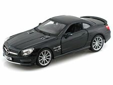 Bburago 1/24 Mercedes Benz SL 65 AMG Coupe Diecast Model Car Black (18-21066)