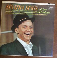 SINATRA SINGS OF LOVE AND THINGS~W1729/1962 Original Mono