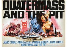 Quatermass and the Pit - Andrew Keir - Hammer Horror - A4 Laminated Mini Poster