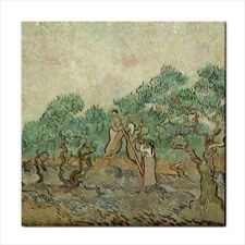 Van Gogh The Olive Orchard Art Detail Ceramic Tile