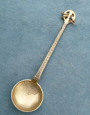 Scandinavian Silver Spoon Ring Top Danish 1906 P Hertz Denmark