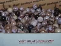 100 Champion Agate PURPLE Swirl Marbles Some with Metallic Lot 74