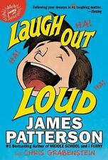 LAUGH OUT LOUD James Patterson C.Grabenstein BRAND NEW HC Hardcover Comb.Ship