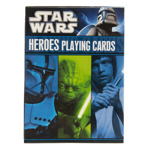 Star Wars Heroes Playing Cards NEW