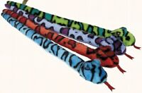 RAVENSDEN PLUSH SNAKE 60CM - FR022A SOFT TEDDY CUDDLY WILD SAFARI TOY SLITHER