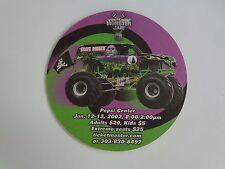 Beer Bar Coaster ~*~ FMX Monster Jam Trucks at Pepsi Center Denver ~ Motorcycles