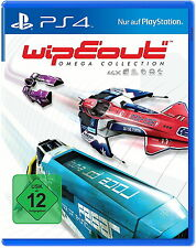 WipEout Omega Collection (Sony PlayStation 4, 2017, DVD-Box)
