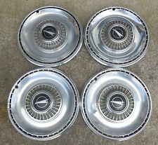 """14"""" 1968 Buick Special wire type mag type Skylark emblem Hubcaps Wheel Covers"""