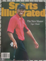 TIGER WOODS SPORTS ILLUSTRATED MAGAZINE PRE-SELECT 1997 NEW MASTER  GEM MINT!!
