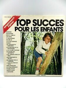 Vinyl Record 33T Set 3 Discs Top Succès For Les Enfants Goldorak