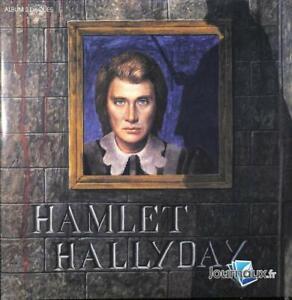 "JOHNNY HALLYDAY "" HAMLET "" N°28 DOUBLE VYNIL HACHETTE NEUF"