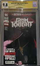 Batman Who Laughs Grim Knight 1 CGC SS 9.8 signed Jock & Scott Snyder (BxA)