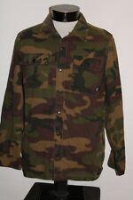 VANS Mens medium M lightweight army shirt-Jacket Combine ship Discount