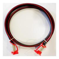 8 B&S 12 volt Lead x 1m 50 amp Anderson Plugs & Caps 12/24 volt Dual Battery