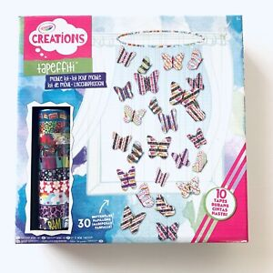 Crayola Creations Tapeffiti Butterfly Mobile Kit Activity Craft Pack Never Used