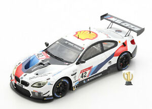 1:43 Spark SG682 BMW M6 GT3, 3rd place 24hrs Nürburgring 2020, #42