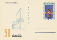 Poland prepaid postcard (Cp 401) Wielkopolska Uprising