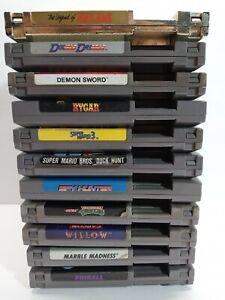 11 Nintendo NES Game Lot Super Mario Bros 3 TMNT The Legend of Zelda +More