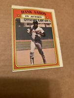 1972 Topps Hank Aaron Atlanta Braves #300 IA Baseball Card