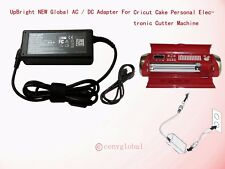 AC Adapter For Cricut Cutting Personal Cake Create Expression Machine Power Cord