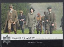 Downton Abbey TV Series Collectible Card - Card No 107 - Matthew's Rescue