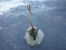 Tulipe patte de verre avec son support/art nouveau/déco