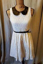 Kirra white lace dress size M