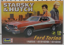 STARSKY HUTCH FORD TORINO TV SHOW CAR REVELL MODEL KIT