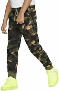 Nike little boys Sportswear Club Fleece Cuffed Jogger Pants Camo size 4