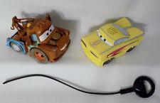 Disney Cars 2006 SHAKE N GO Yellow RAMONE By Mattel & RIP STICK RACER MATER FUN!