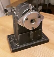 """The """"Victory"""" velos pencil sharpener black on wooden stand"""