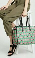 New $348 Kate Spade Morley Extra-Large Pink Green PXRUA237 Tote Bag