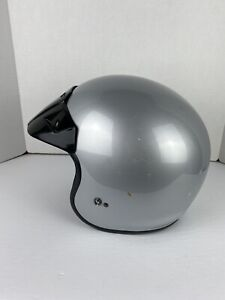 FULMER AF S75 Motorcycle Helmet Men's XL Snell DOT SILVER Snowmobile Protection
