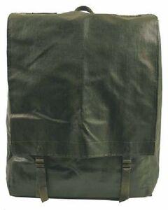GENUINE CZECH ARMY M85 RUCKSACK GREEN BIG BACK PACK KIT BAG PVC CAMPING MILITARY