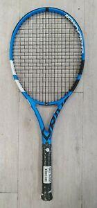 """BABOLAT """"Pure drive Team"""" Tennisschläger Schläger blau Size 4 1/8-1  besaitet"""