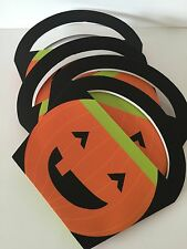 4 x HALLOWEEN SPOOKY PUMKIN Trick Or Treat  Sweet Candy Bags BOXES LOOT PARTY