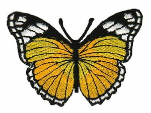 Ae44 Butterfly Sew-On Application Patch 3x2in