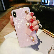 Girly Bling Diamond Marble Soft TPU Case Cover Shell For iPhone X 8 7 6 Plus