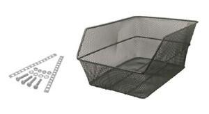 588160061 - Basket Rear Iron Black for Bicycle