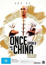 ONCE UPON A TIME IN CHINA TRILOGY - DVD, 3-Disc Set, Region 4