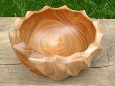 Wooden Hand Carved Teak Bowl.....