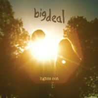 "Big Deal : Lights Out VINYL 12"" Album (2011) ***NEW*** FREE Shipping, Save £s"