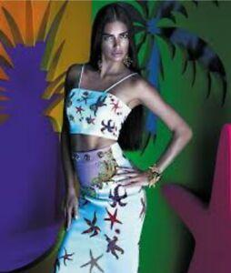 VERSACE Tresors de la Mer , Gianni Versace tribute collab vintage top and shorts