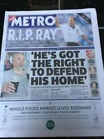 Ray Wilkins Obituary Front Page Newspapers Chelsea Football Metro 05/04/2018
