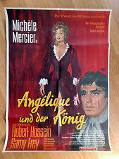 Michele Mercier ANGELIQUE AND THE KING Robert Hossein -  rare German 1-sheet