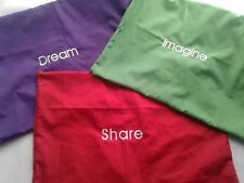 Personalized Toddler Shams Pillowcase  Embroidered Monogrammed Travel Size
