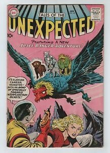 DC 1960 TALES OF THE UNEXPECTED No. 45 VG/FN 5.0 Space Ranger